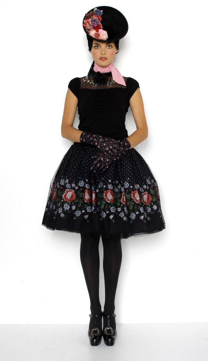 Mitgift by Susanne Bisovsky - I want a skirt like this so badly!