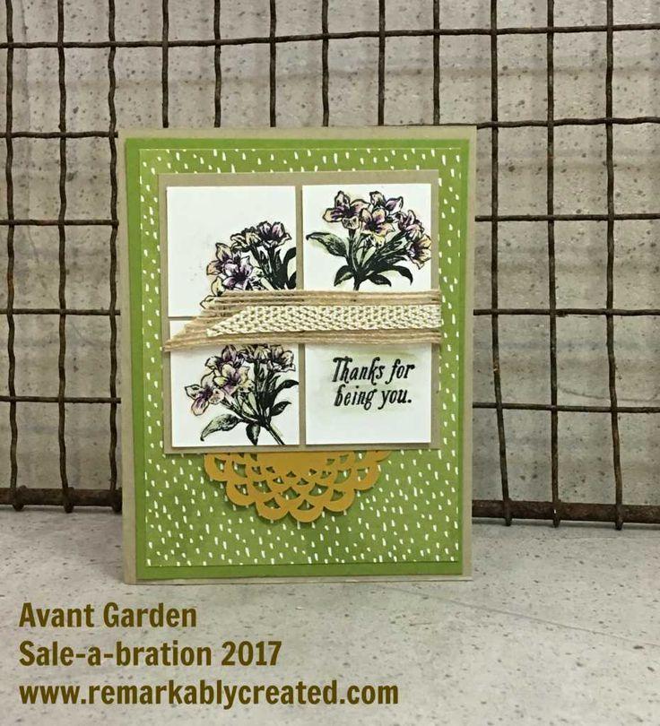 Sale A Bration Blog Hop Featuring Avant Garden
