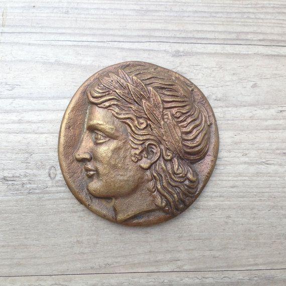 Bronze Paperweight Greek God ApolloGod of Music and by GreekMythos, $39.00