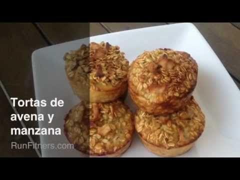 Descubre una receta perfecta para corredores: Muffins de manzana y avena. Sabrosos y nutritivos.