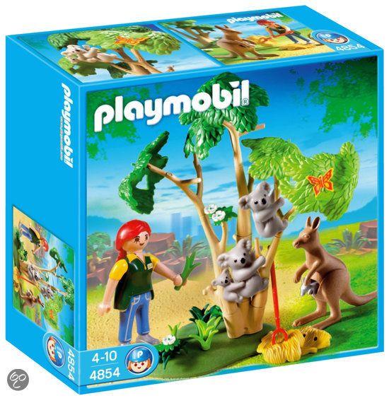 Dingen van playmobil ze vindt de dieren uit de dierentuin erg leuk
