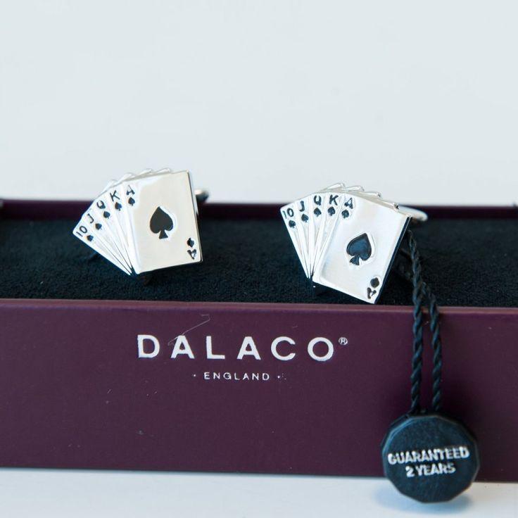 Butoni camasa 'Carti de joc'