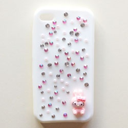 COVER PER CELLULARE #DIY #PHONE #COVER #HELLOKITTY