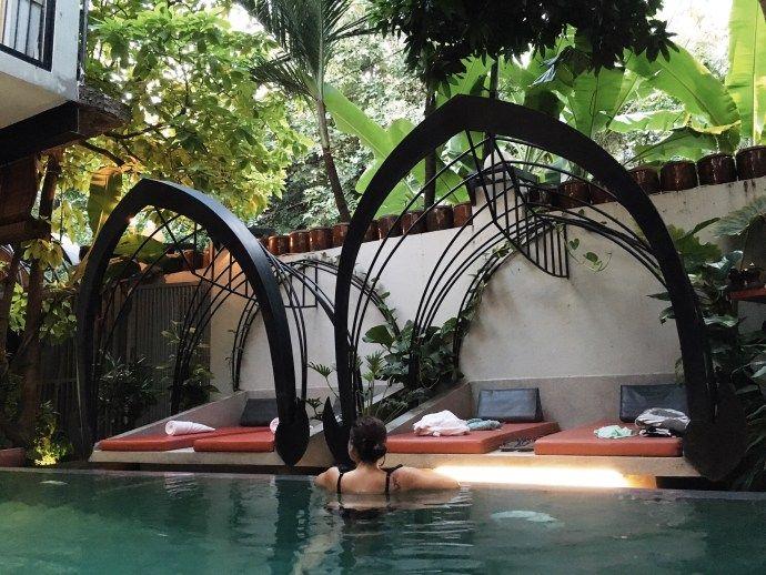 Un moment de détente au Teav Bassac hôtel & Spa de Phnom Penh ✈️ -