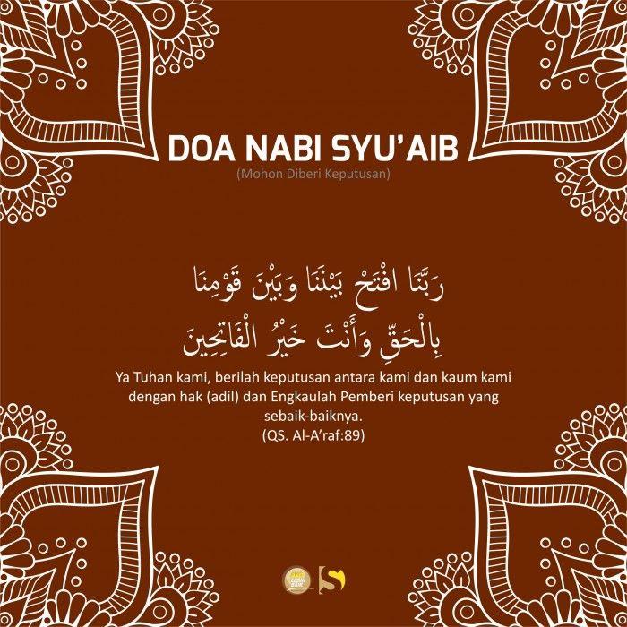 Doa Nabi Syuaib