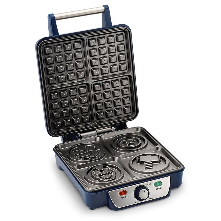 Marvel Avengers Waffle Maker - visit to grab an unforgettable cool 3D Super Hero…