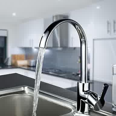 Kran air modern mempercantik tampilan dapur anda