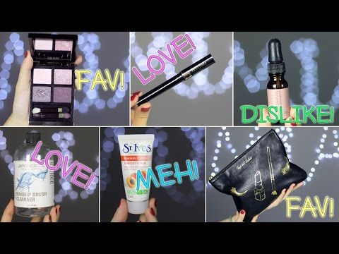 April Empties and Favorites 2015 - YouTube