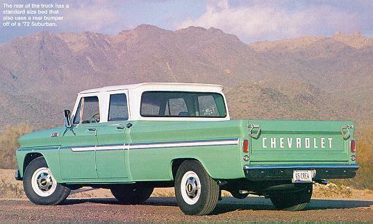 4 door Chevy.