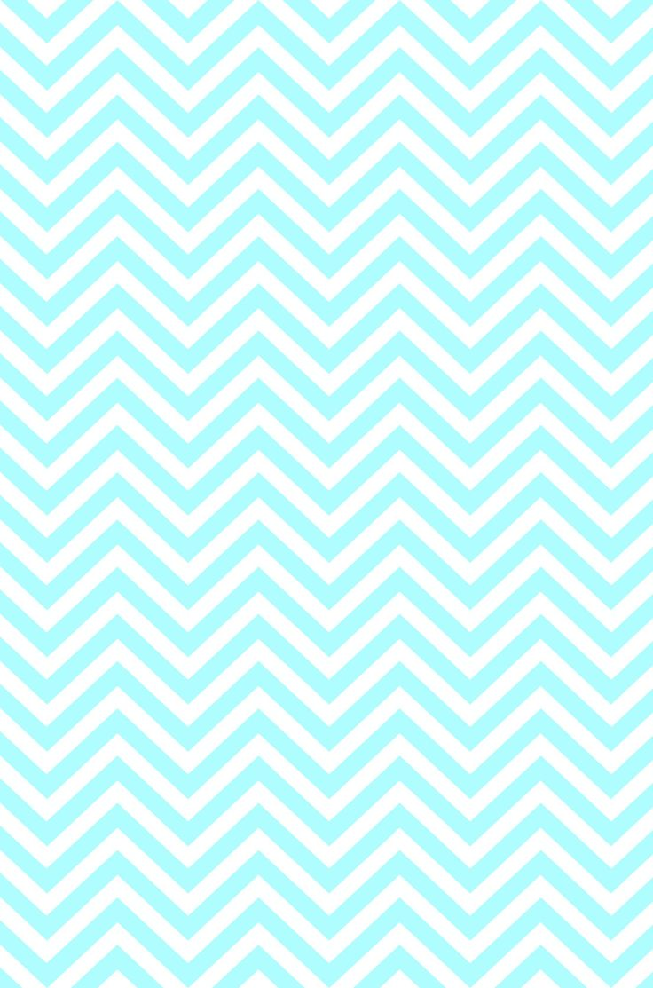 White  Blue Chevron wallpaper.