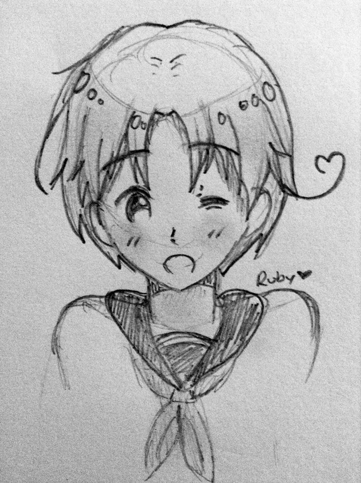 Italy sketch from Hetalia!