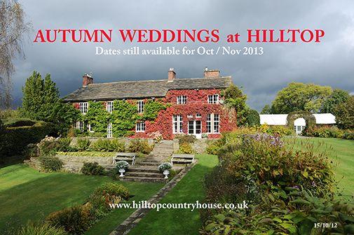 Hill Top House Hotel Prestbury - Autumn Colours