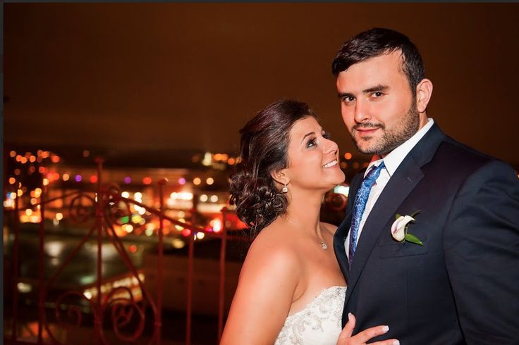 There's nothing happier than a newlywed couple over looking the Memphis skyline! What an amazing photo from 3Eight Photography! Contact them today to learn more about their wedding photography packages! Photo credit: 3Eight Photography