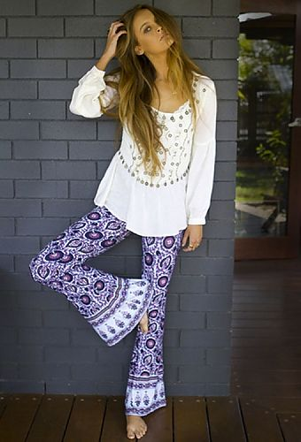 Love this funky outfit