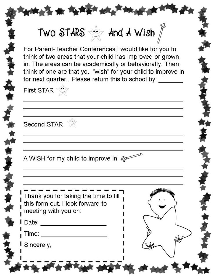 Best Conference Sheets Images On   Parents Parenting