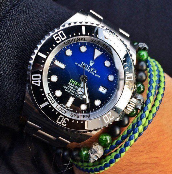 Fancy - Rolex Deepsea Blue Dial