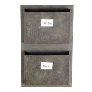 Shop for Oh! Home Industrial Metal Two Slot Mailbox. Get free delivery at…
