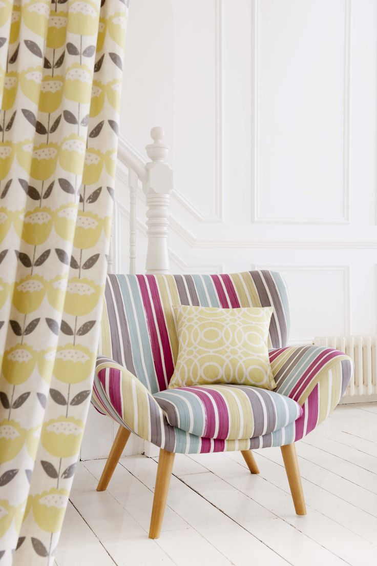 Fabrics from the Folia range, supplied by Charles Parsons.