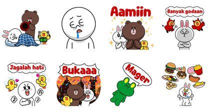 Ramadhan Pop-Up Stickers