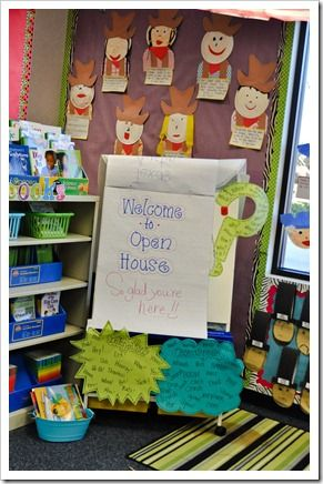 34 Best Open House Images On Pinterest Classroom Ideas School