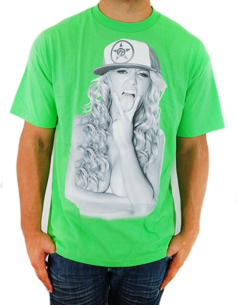 New!  Unit Linguistic T Shirt Lime Green  Reg. Price $22.99  Sale Price: $20.70