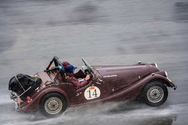 Car 14 Philip Macwhirter(AUS) / Laurette Macwhirter(AUS)1969 – Morgan plus 8, Rally of the Incas 2016, Rally of the Incas 2016. Day 01 Buenos Aires – Mar del Plata