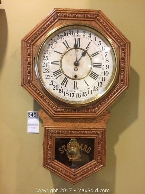 New Haven Wall Clock-A