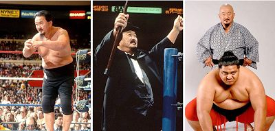 "WWE legend Mr. Fuji has died at the age of 82 the WWE announced on Sunday morning. Mr. Fuji whose real name is Harry Fujiwara was a WWE wrestler and later became a managerto stars like George ""The Animal"" Steele and Yokozuna. Mr. Fuji was best known for throwing salt into the eyes of his opponentsand was a 5-time WWE Tag Team champ.He was inducted into the WWE Hall of Fame in 2007."