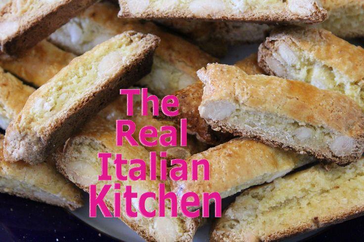 How to make Biscotti - Original Tuscan Recipe - Real Italian Kitchen