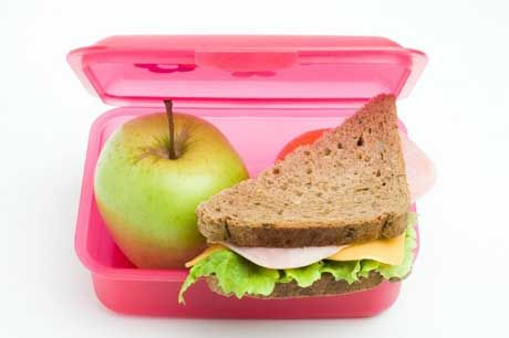 healthy school lunches for the kids!