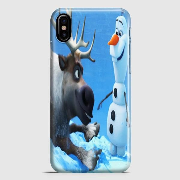 Sven And Olaf Funny Cartoon iPhone X Case