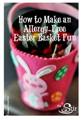 20 best easter treats images on pinterest easter treats easter make an allergy free easter basket without losing all the fun negle Image collections