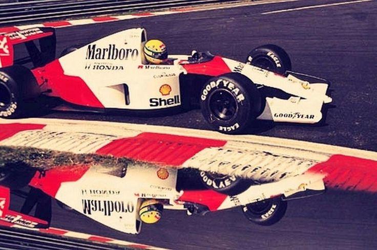 Ayrton #Senna. #McLaren #F1