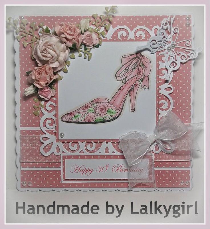 Wonderful Card Making Ideas 30th Birthday Part - 7: My Creative Place: 30th Birthdy Card For A Shoe Fan. 30th BirthdayBirthday  CardsHomemade ...