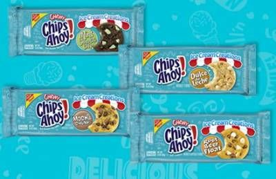 Nabisco Cookies: $1.00 Off any TWO Packages of Chips Ahoy! Ice Cream Creations