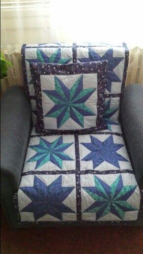 Pillow star on sofa + Pillow
