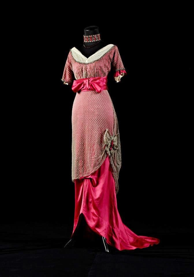 Gowns from the Alexandre Vassiliev Foundation, circa 1910-15