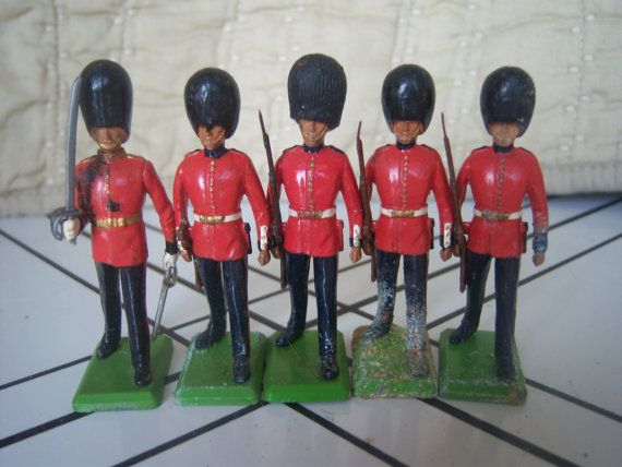 Britain Toy Soldiers 1980's Toy Soldiers English by AngelandAnnie, $40.00