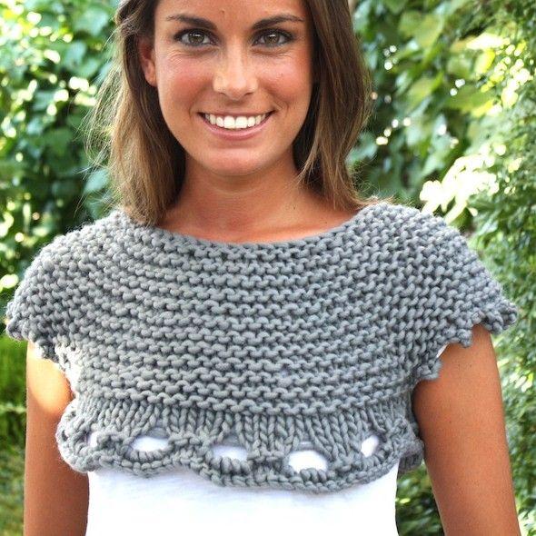 Ahí donde lo veis, el Top Mayfair es una de nuestros diseños que mejor combinan. Es de nivel de dificultad alto, para expertas knitteras.