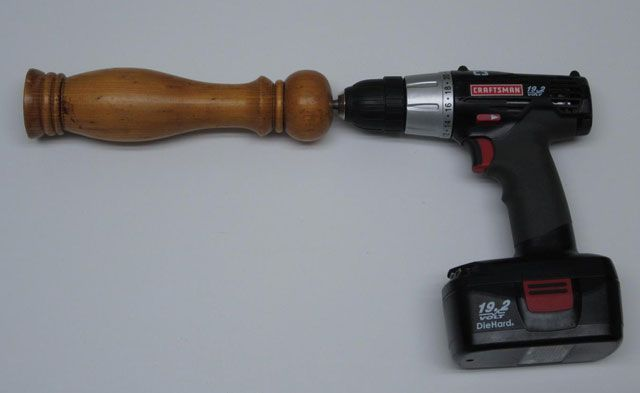 Cooking With A Cordless Power Drill