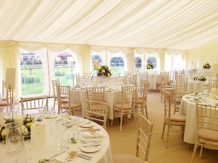 Marquee wedding ideas this marquee was divided up into three sections for eating