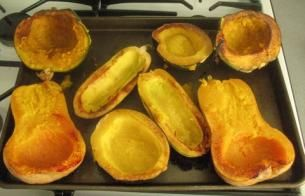 How to cook squash, and some of the different types.