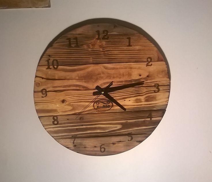 Zegar z palet z=eco