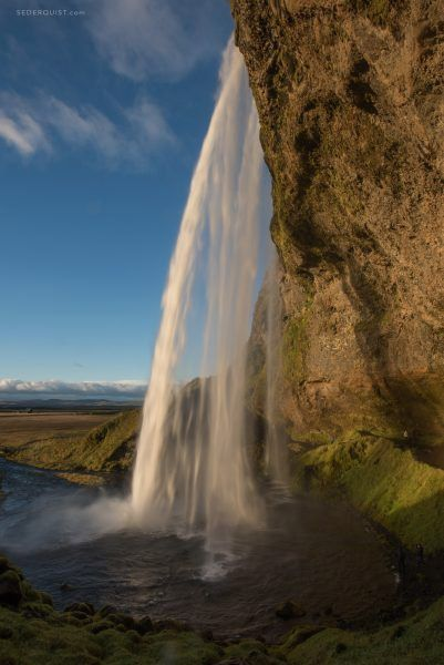 Iceland waterfall by Betty Sederquist #iceland #travel #photography