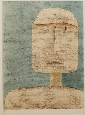 HEAD  By Paul Klee