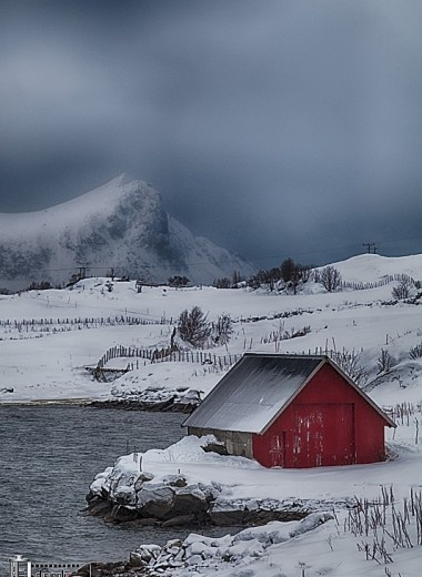 """Barn In Norway This is kind of what I dream of living in with a beautiful long blonde haired Norwegian back wood woman... """"I once had a girl or should I say she once had me...she showed me her room isn't it good Norwegian wood... We talked until 2 and then she said it's time for bed...I would paint the barn Black..."""