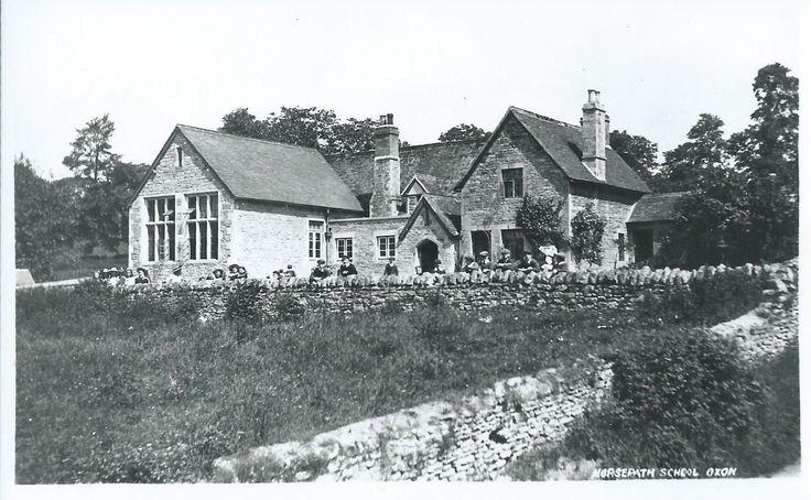 The School Horspath, Near Oxford. c.1910   eBay