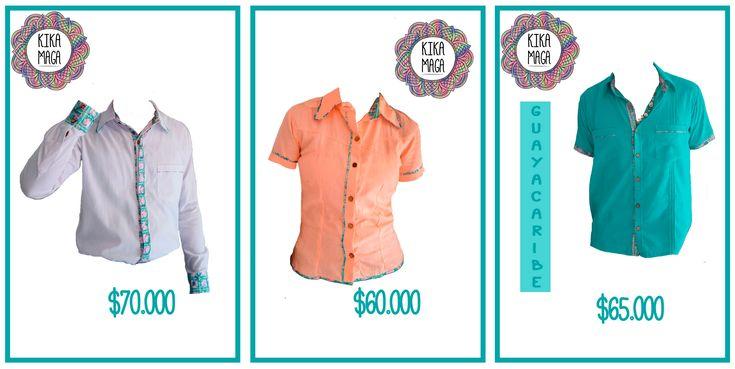 Adquiere ya una prenda de la #NuevaColección  Disponibles por encargo en todas las tallas. Consulta colores disponibles. #KIKAMAGA #Vísetecomoquieras • • •  #Barranquilla #Colombia #moda #guayabera #camisa #caribe #mujer#hombre #casual #fashion #colores#compras #men #fashionaddict #style#men #menswear #wear #outfit #guayabera