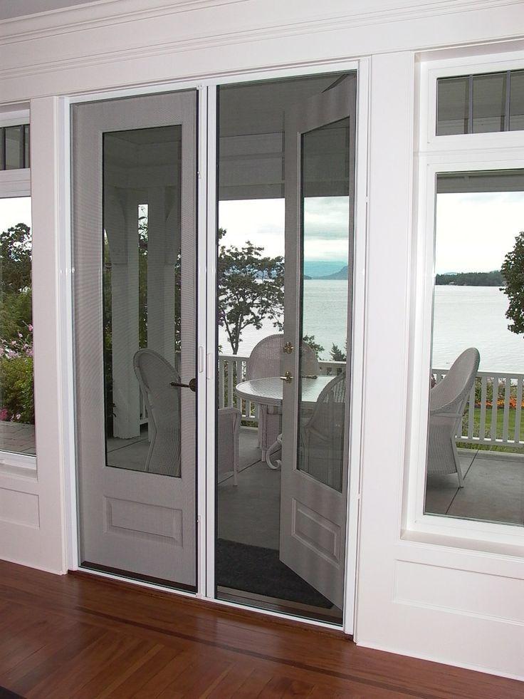 Best 25 french door screens ideas on pinterest patio for Phantom screen doors for french doors