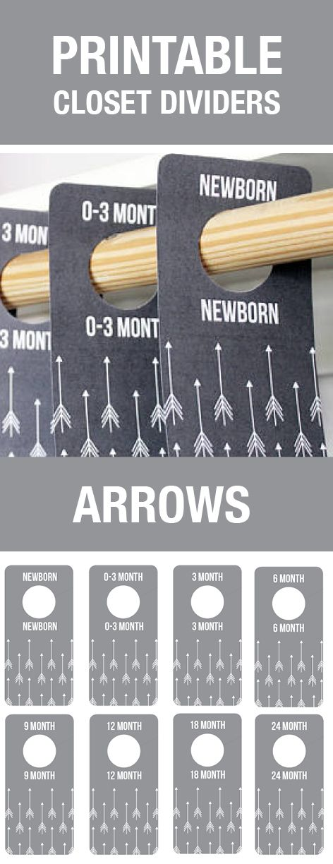 Arrow Nursery Decor, Baby Closet Dividers, Gray Nursery, Grey Nursery, Arrow Baby Room, Arrow Theme, Baby Shower Gift, Closet Organization, Baby Room, Baby Room Themes